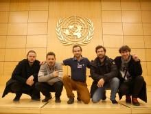 Marko Hatlak & FUNtango nastopil v osrednji dvorani Združenih narodov v Ženevi